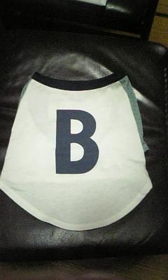 「B」Tシャツ