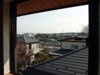 屋根裏から見た風景