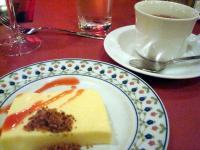 レアチーズケーキ&アップルレモンティー