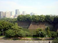 東京国立近代美術館4Fから見た皇居