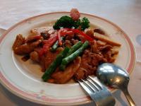 肉と野菜の炒め物
