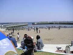 人工砂浜1