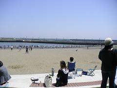 人工砂浜2