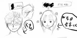 K君+w君の妹さん