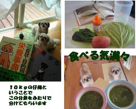 野菜ジュース3連