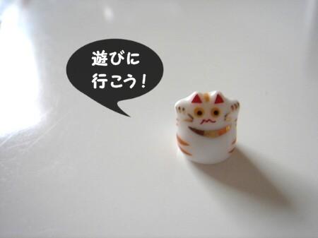 豆猫で遊ぶ。 (2)