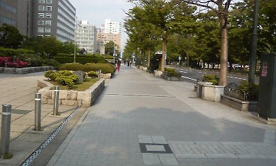 大通公園までの道
