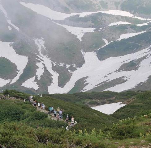 登山道 093