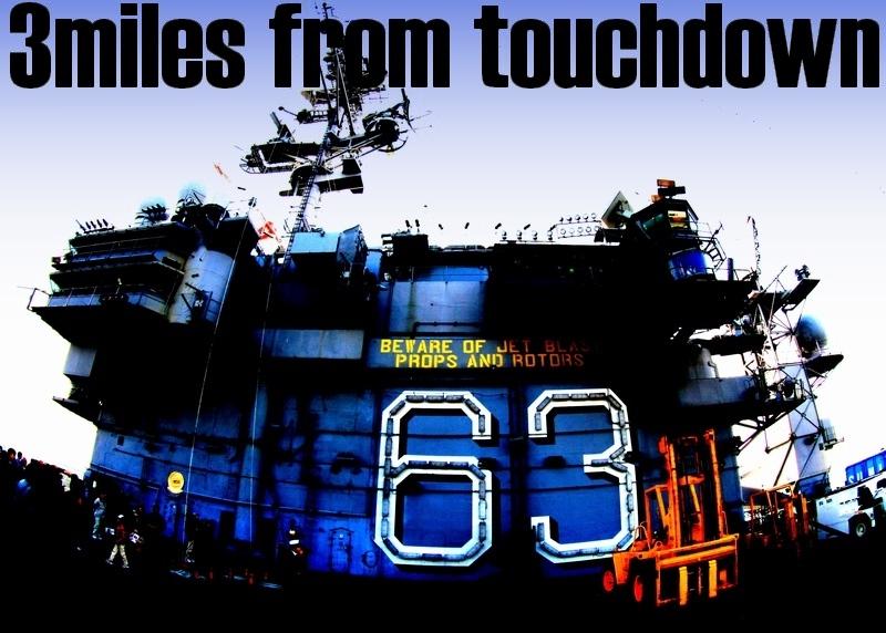SAYONARA 空母USSキティホークCV-63(横須賀基地&厚木基地)