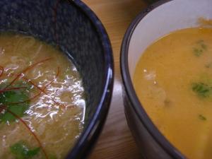 08062912鶏塩&ウニ・スープ比較