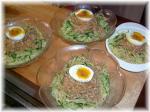 バンバンジー風冷しジャージャー麺