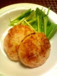 魚肉ハンバーグ