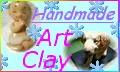 クレイアート 粘土でハンドメイド