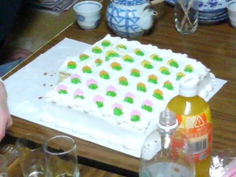 超巨大ケーキ