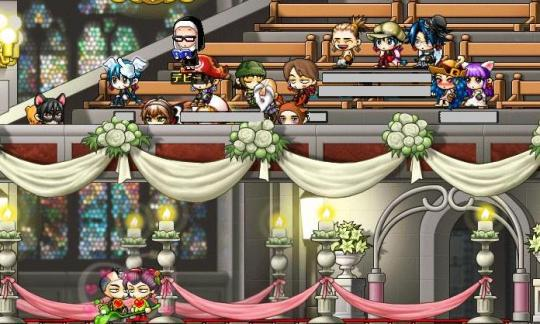 結婚式♪ (*/∇\*)