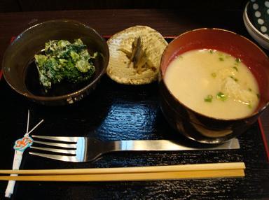 呉汁&お惣菜