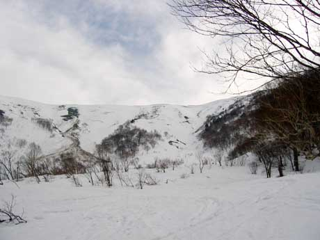 ヤカイ沢と平標山