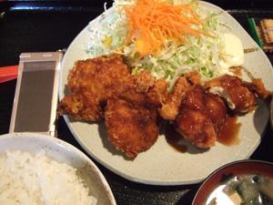 ホタテフライ定食2