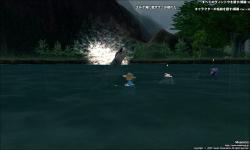 「湖面隆起、これは・・・鰐の急速浮上です!」