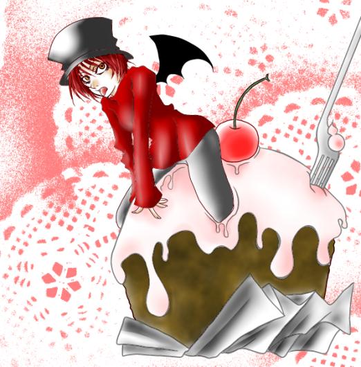hideinケーキ。