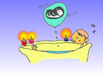 ろうそくお風呂