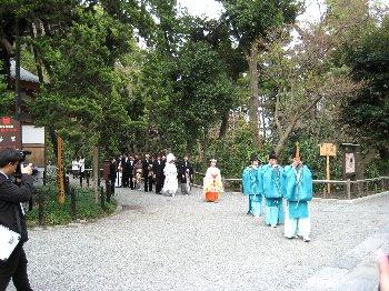 八幡宮結婚式