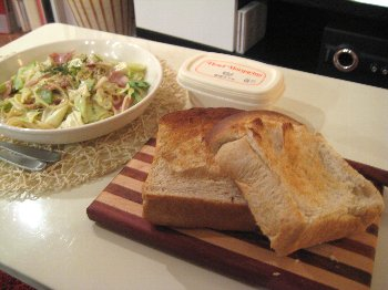パスタ&食パン