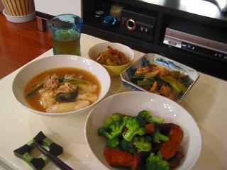 お雑煮&お野菜残り