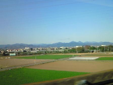 080329 新幹線の車窓から