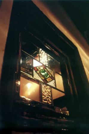 ステンドグラスの夜空