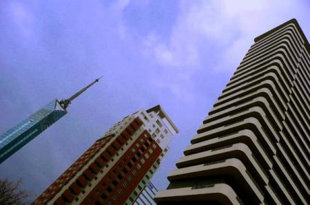 タワーとマンション