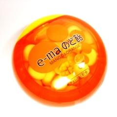 20080328 e-ma のど飴 マンゴー&オレンジ