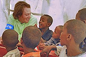 Clay with Somalia kids edit