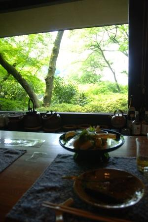 京都の町を一望