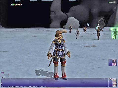 裏氷河のボスがいるところす。