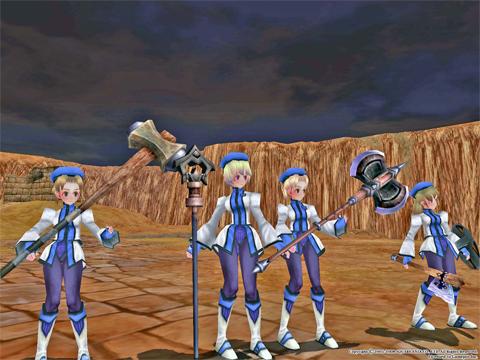 闘い終わって夜が明けて・・4人の精鋭たちが!めったに見れるものじゃない!