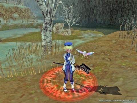 FEZの妖精!ノンアクですけど回復とかはしてくれません、攻撃すると鬼怖いw