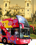 リマ市内観光バス