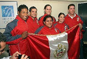 ペルー選手団