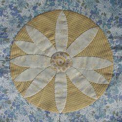 花のマンスリーキルト