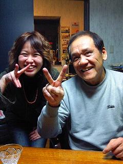 Syokoと忠男さん