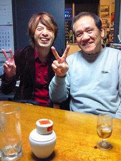 浅野と忠男さん