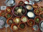 山菜定食1