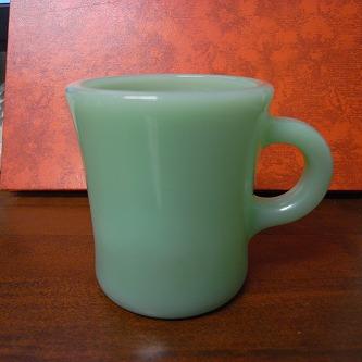 翡翠色のカップ!