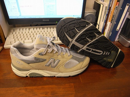 ニューバランス587 これは素晴らしい作業靴!