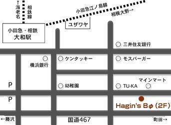 ハギンズビー地図