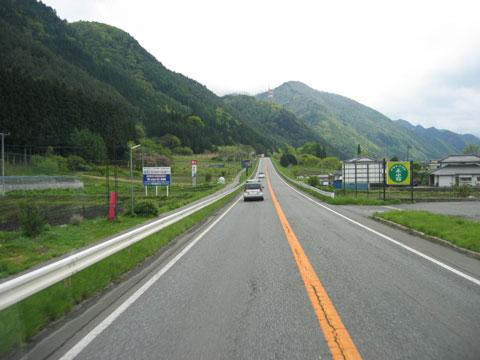 国道19号塩尻市付近
