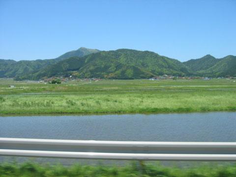 国道9号線津和野近辺^^