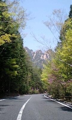 三倉岳へのエントランス・ロード