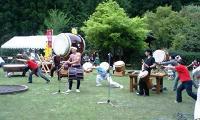 フィナーレを飾る太鼓と踊り
